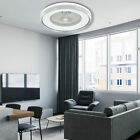 """LED Ceiling Fan Light 23.5"""" Modern 3 Color Dimmable Lamp Remote Control SMD 60W"""