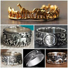 925 Silver,gold Anniversary Rings Personalized Women/men Jewelry Gifts Size 6-10