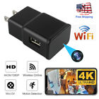 Mini USB Wall Charger Recorder Motion Camera HD 1080P WiFi Power Adapter us