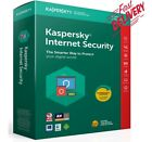 """Kaspersky Internet Security 2021 Activation License, 1, 2 Years """"1, 2, 3 Devices"""
