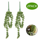 Artificial Hanging String of Pearls Plant Succulent Vine Garden Home Wall Decor