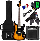 Best Choice Products 39in Full Size Beginner Electric Guitar Starter Kit w/Case, for sale