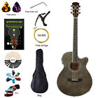 40 inch Thin Body Acoustic Electric Guitar Beginner Guitar Gift Music Lover Kids