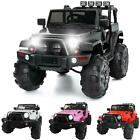 12V Kids Ride on Truck Electric Car Battery Big Wheels Remote Control 3 Speed