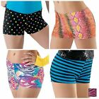 NEW Dance Gymnastics Print Booty Mini Bar Shorts Child & Adult You Pick