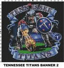 NFL Tennessee Titans Mascot cross stitch pattern $16.99 USD on eBay