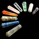 Crystal Agate DT Double Terminated Hexagonal Points Vogel Wand Chakra Grid