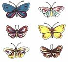 12 Cute Butterfly Select Size Waterslide Ceramic Decals Bx image