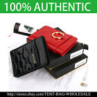 [OMNIA]Korea WOMEN'S LEATHER Card Case Bifiold Wallet KeyChain Holder KR319