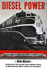 R12 Vintage Diesel Power American New Haven Railways Travel Poster A1 A2 A3