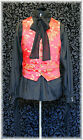 Dragon Chinese Brocade Waistcoat Goth Steampunk Victorian Chap Obsidian NEW