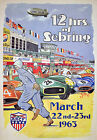 "AD90 Vintage 1960's Grand Prix Motor Racing Advertisment Poster A3 17""x12"""