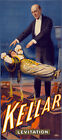 "M70 Huge 17""x38"" Vintage 1900 Magic Kellar Levitation Magician Poster Re-Print"
