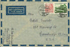 EAST GERMAN COVERS WITH WORKERS' DEFINITIVES 1954/59....GETTING SCARCE