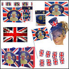 Commemorative 2012 Queens Diamond Jubilee Flags Bunting STREET PARTY Supplies