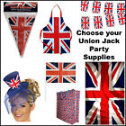 London UK 2012 Olympics Union Jack Flags Bunting Gifts STREET PARTY  SUPPLIES