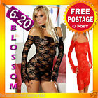BB77 Sexy Baby Doll Dress Babydoll Nightie Slip Chemise Plus Lingerie 6-20