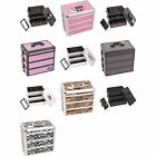 Внешний вид - Professional Makeup Cosmetic Case 3n1 Stackable Box Divider Upgradable Lockable
