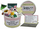 MUM - MUMMY TO BE SURVIVAL KIT IN A CAN. New Parent/Baby Shower Gift & Card