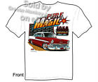 1956 Chevy T shirt 56 Belair Classic Car Shirt Pure Magic Tee Sz M L XL 2XL 3XL
