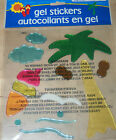 Hawaii~Beach~Tropical Theme Gel Stickers