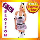 G26 Ladies Teachers Pet School Girl Fancy Dress Hens Night Party Costume Outfit