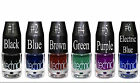 Liquid Gel Eyeliner from the Electric Beauty Range Blue Green Purple Brown Black