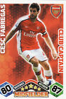 Match Attax Extra 09/10 Arsenal & Aston Villa Cards Pick Your Own From List