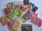 Embroidered Brocade or Patterned Silk Mini Wallett - Assorted Colours