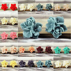 16x16mm Vintage Style Cameo Resin Cabochons Assorted Flowers for Rings Pendants