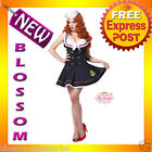 C618 Woman Nautical Doll Deluxe Sailor Navy Pin Up Adult Costume Outfit