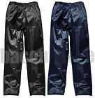 Mens Ladies Waterproof Rain Fishing Storm Motorcycle Over Trousers Pants