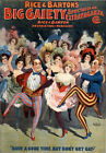 B39 Vintage Gaiety Burlesque Theatre Poster A1 A2 A3