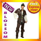 C371 Mens Robin Hood Thieves Designer Halloween Fancy Dress Party Costume