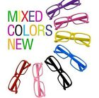 Fashion Girl&Boy Style Fashion Frame Geek Elegant Glasses No Lens Multicolor