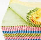 10x Mixed Color Cleaning Cloth for Glasses Photo Frame Camera Lens Disk DVDs
