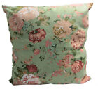AF98a Nude Pink Wild Flower Cotton Canvas Cushion Cover/Pillow Case*Custom Size*
