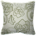 UF24a Oliver Rose on Beige Velvet Style Cushion Cover/Pillow Case Custom Size