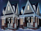 CHRISTMAS 120/300/480/720 ICICLE SNOWING LED BRIGHT XMAS LIGHTS PARTY OUTDOOR