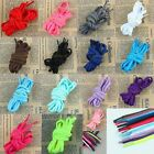1 Pair 15-Neon Color Oval Sneakers Laces Sport Athletic Boots Strings Shoelace