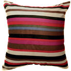 Ma06a Rainbow Velvet Style Cotton Blend Cushion Cover/Pillow Case*Custom Size