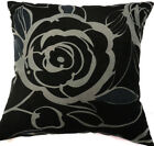 Ma13a Big Flower Velvet Style Cotton Blend Cushion Cover/Pillow Case*Custom Size