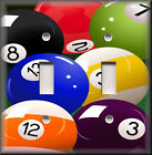 Metal Light Switch Plate Cover - Pool Balls Game Room Home Pool Table Home Decor $13.99 USD on eBay