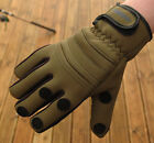 NEW BISON NEOPRENE GLOVES  ALL SIZES , FOLDING FINGERS, FISHING ,SHOOTING