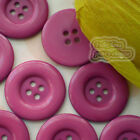 India 4 Holes Plastic Buttons Sewing Cardmaking Scrapbooking 17mm,27mm,33mm