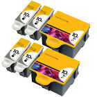 6 INK CARTRIDGES FOR KODAK NO 10 ESP3250 ESP5250 ESP6150 ESP3 ESP5 ESP7 ESP9