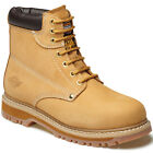 MENS DICKIES CLEVELAND SAFETY WORK BOOTS HONEY STEEL TOE SIZE UK 6 - 12 FA23200