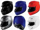 Icon Airmada Gloss Colored Motorcycle Helmet 2XS, XS, S, M, L, XL, 2XL, 3XL  New
