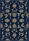 5x8 Radici Blue Traditional Scrolls Vines Floral 1869 - Approx 5' 5