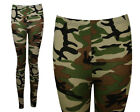 NEW PLUS SIZE CAMOUFLAGE PRINT STRETCHY LONG LEGGINGS SIZE 16-20